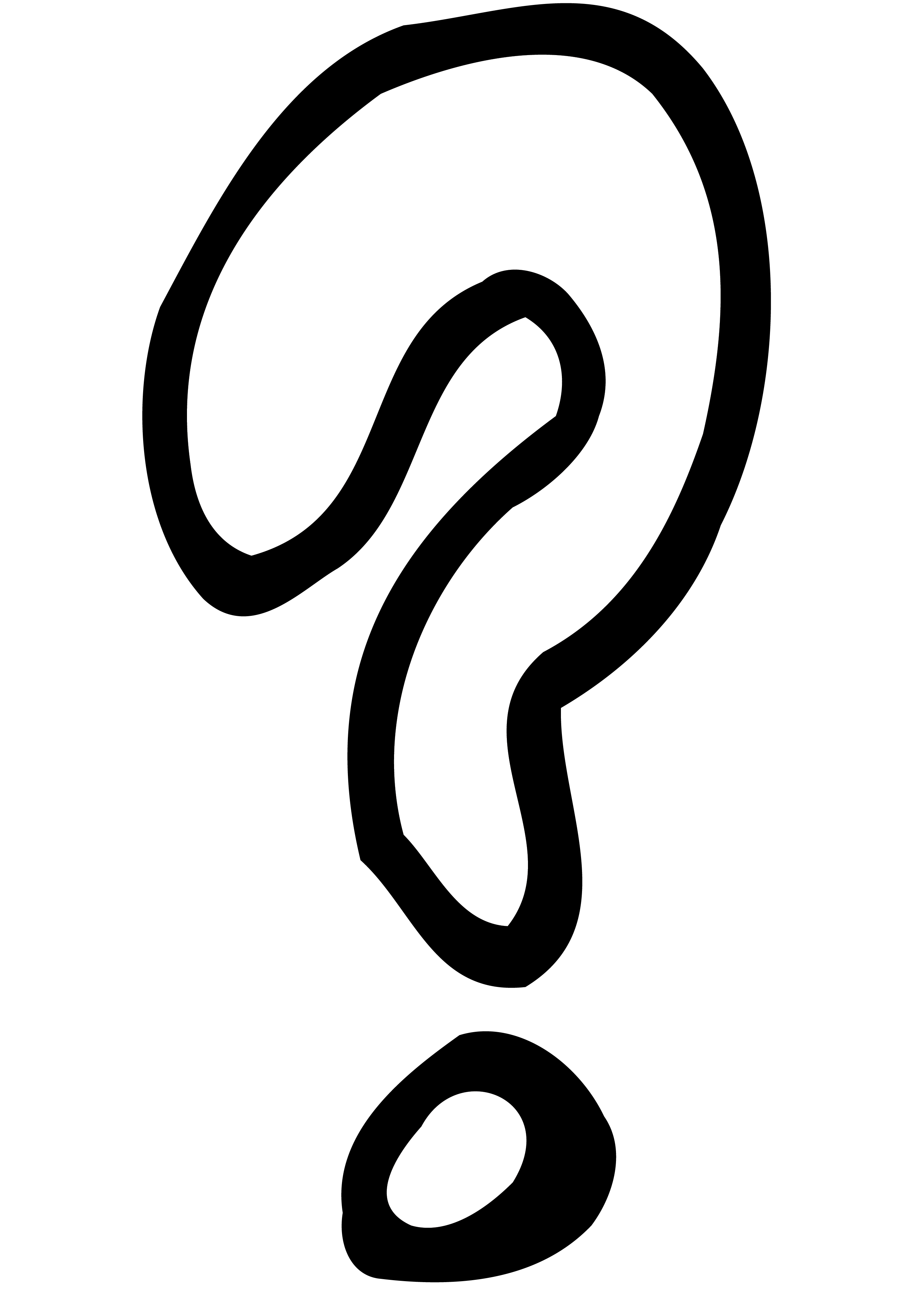 Question Mark Doodle Coloring Pages
