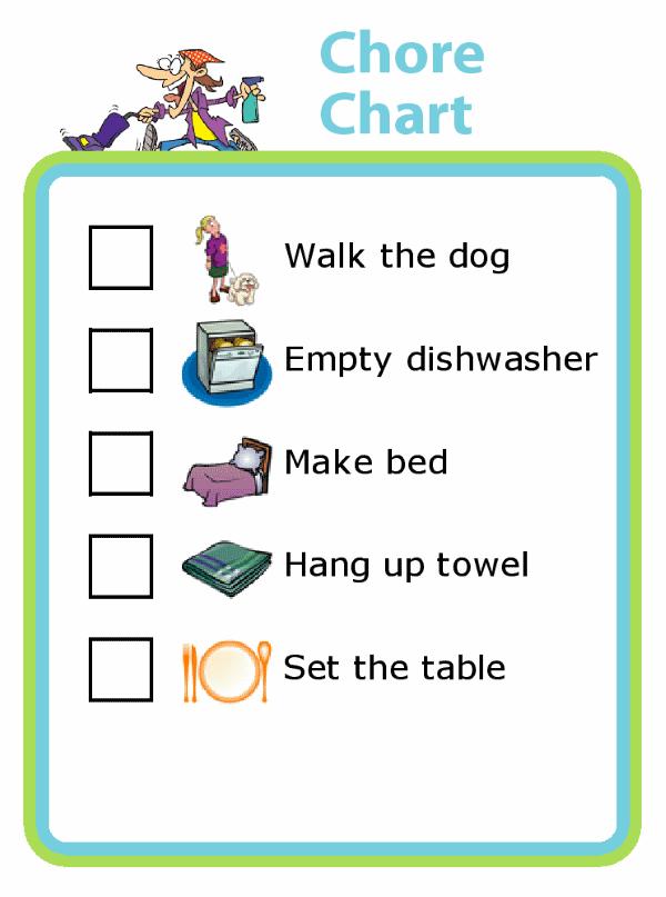 make a chore list