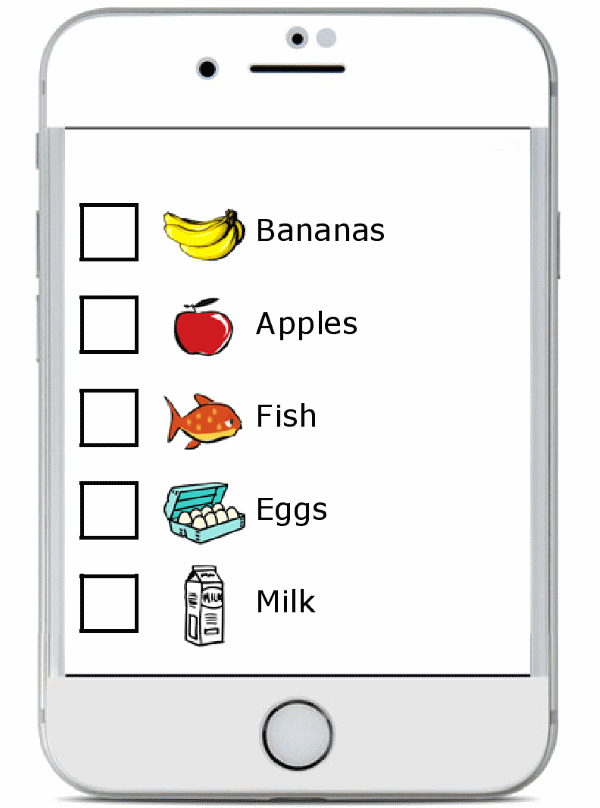 Make a grocery list online and easily sync it to your phone - you'll soar through your next grocery trip and you may even find your kids can truly help!
