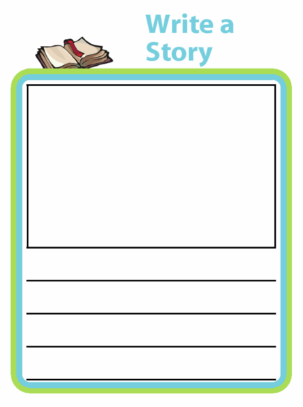 These printable story templates let kids use their imaginations to write stories and draw pictures. Easily create a little book for your budding author!  Try it with a kid-sized clipboard from The Trip Clip for great tech free travel!
