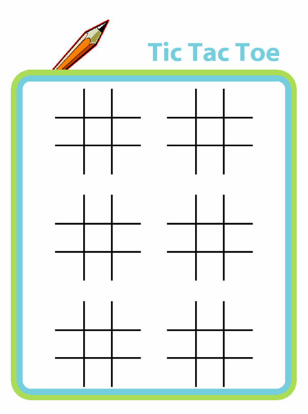 Printable Tic Tac Toe Boards For Kids The Trip Clip