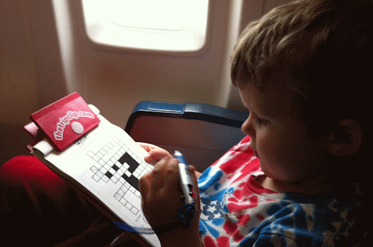 Picture crossword puzzles are a great way to keep kids entertained in the car, on an airplane, or anywhere you travel.