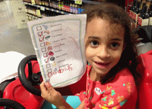 Grocery shopping with kids is so much easier if you give them a picture list of their own! You may be surprised how much your kids can actually help.