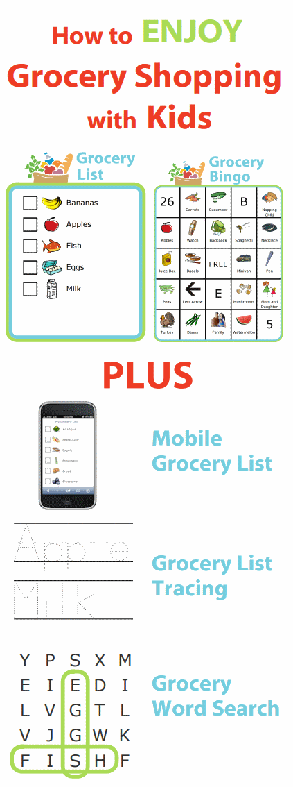 Grocery on Bedtime Routine Chart