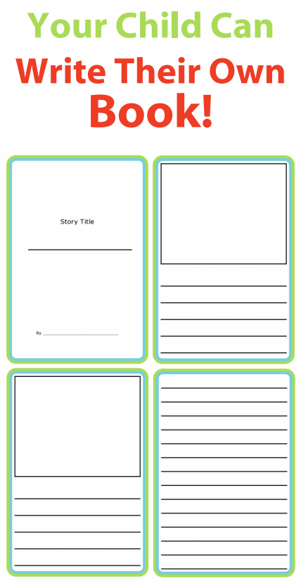 these printable story templates let kids use their imaginations to write stories and draw pictures
