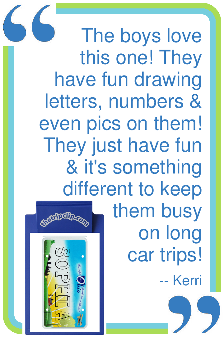 Alabama Car Tags >> Design Your Own License Plate - The Trip Clip