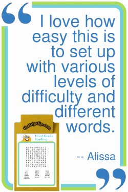 Printable, Customizable Word Search Puzzles for Kids - The